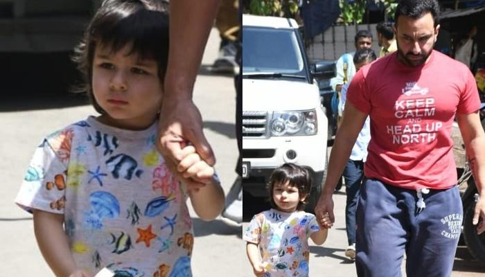 Taimur Ali Khan Looks Adorable As He Wears A Coordinated Set For His Dance Class