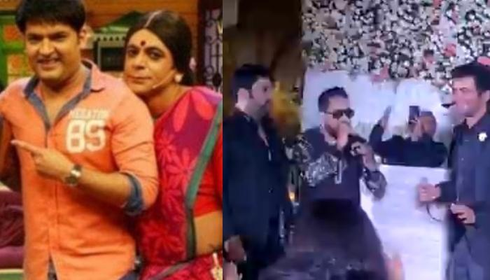 Kapil Sharma And Sunil Grover Dance Together At A Wedding Reception Of Kapil Kumria's Daughter