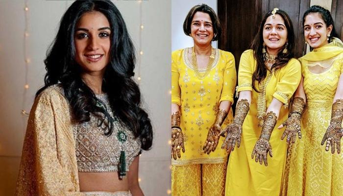 Radhika Merchant And Her Mom Twinning On Sister Anjali's Wedding Proves Where She Got Her Smile From