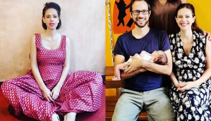 Kalki Koechlin's Daughter, Sappho Looks Like A Cotton Ball As She's Curled Up In Her Grandma's Arms