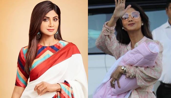 Shilpa Shetty Kundra's Daughter, Samisha Turns One-Month Old, The Actress Shares A Glimpse Of Her