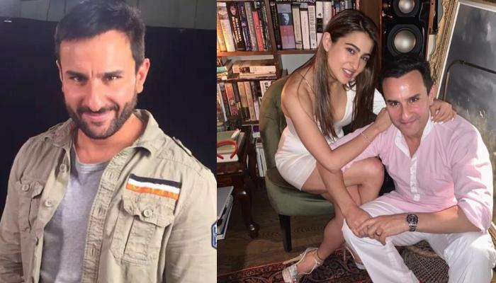 Saif Ali Khan Reacts On Working With Sara Ali Khan, Keeping Personal-Professional Life Separately