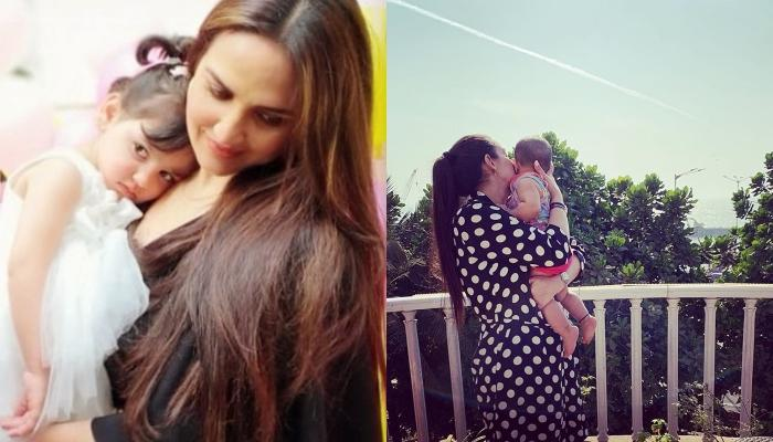 Esha Deol Spending Time With Her Mini-Me, Radhya And Miraya Takhani Portrays Life Of A Working Mom