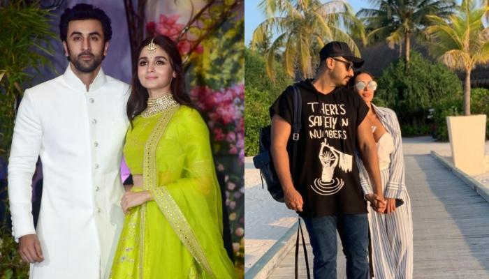 Ranbir And Arjun Kissing Girlfriends, Alia And Malaika On A Double Date In New York Is All Love