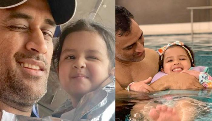 When Adorable Father-Daughter Moments Shared By MS Dhoni And Ziva Took The Internet By A Storm