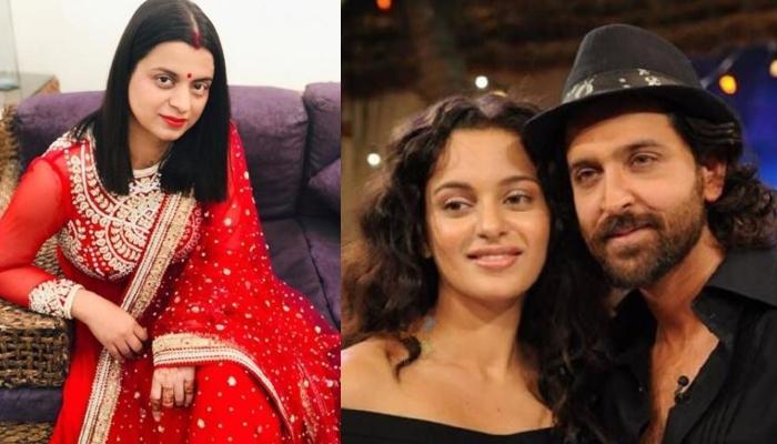 Kangana Ranaut's Sister, Rangoli Chandel Trolls Hrithik Roshan With A Picture, Calls Him 'Pappu Ji'
