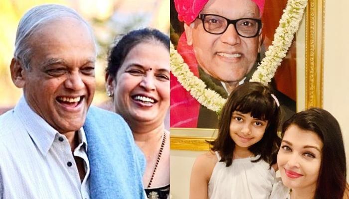 Aishwarya Rai Shares A Note For Her 'Guardian Angel', Krishnaraj Rai On His Third Death Anniversary