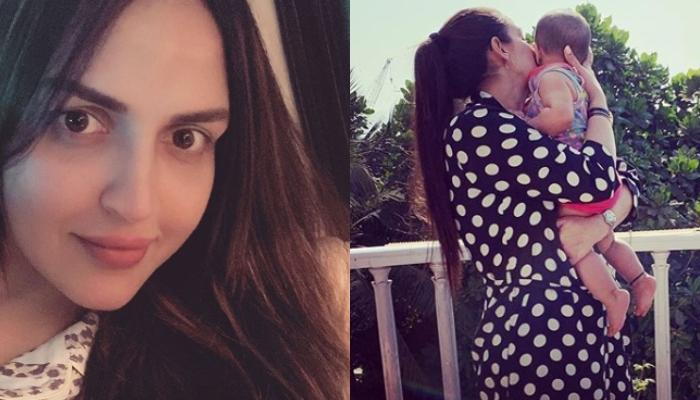 Esha Deol Takhtani Spends Her Self-Quarantine With 'Bed Time Cuddles' With Daughter, Miraya Takhtani