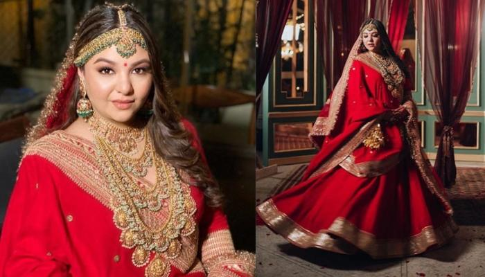 The Beautiful Story Of Priyanka From Being A Sabyasachi Bride To A Sabyasachi Model
