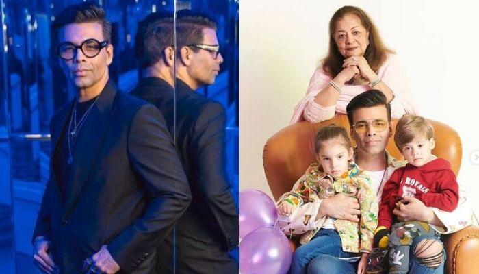 Karan Johar Shares An Adorable Video Of His 'Future Modern Artists', Yash And Roohi Johar