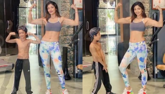 Shilpa Shetty Kundra's 'Sonday' Workout With In-House Competitor Viaan Raj Kundra Is Truly Inspiring