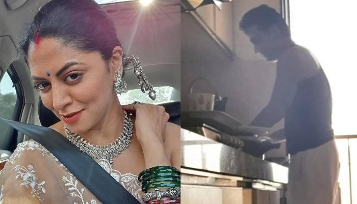 Kavita Kaushik Lessons A Troller Who Tried Trolling Her For Making Husband, Ronnit Clean The Dishes