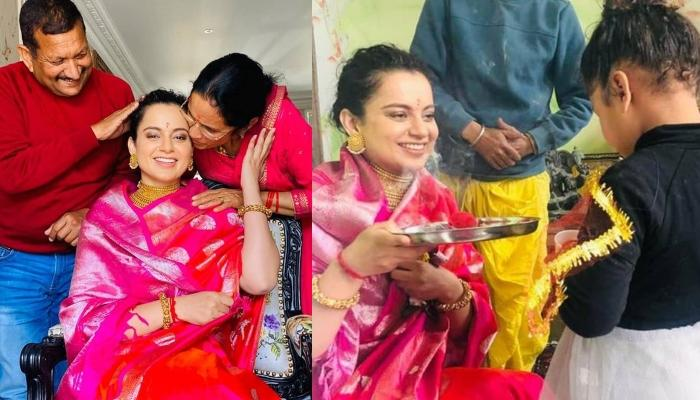 Kangana Ranaut's Family Organised A Birth 'Puja' For Actress' 33rd Birthday In Manali