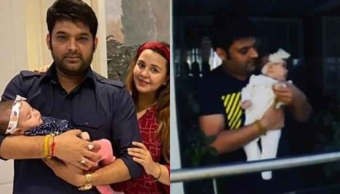 Kapil Sharma Cheers With His 3-Month-Old Daughter, Anayra Sharma On 'Janta Curfew' By Clapping Hands