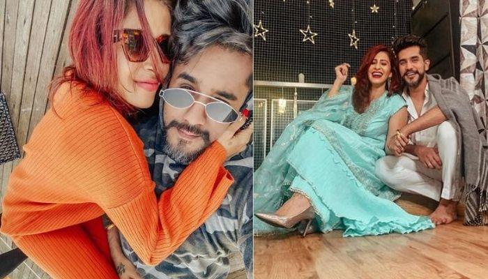 Kishwer Merchant Gives A Birthday Surprise To Hubby Suyyash Rai As They Quarantine