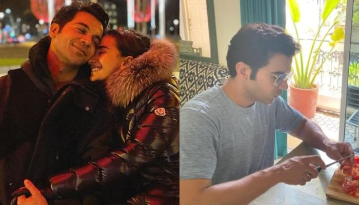 Raj Kummar Rao And Co-Chef, Patralekhaa Show Off Culinary Skills And Cook Quarantine Lunch Together