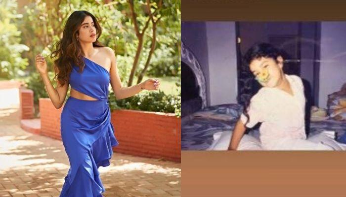 Janhvi Kapoor Shares A Series Of Throwback Pictures To Beat The Quarantine Blues