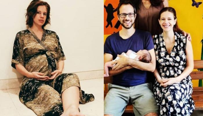 Kalki Koechlin Shares An Adorable Picture Of Her Little Angel, Sappho Curled Up In Her Daddy's Arms