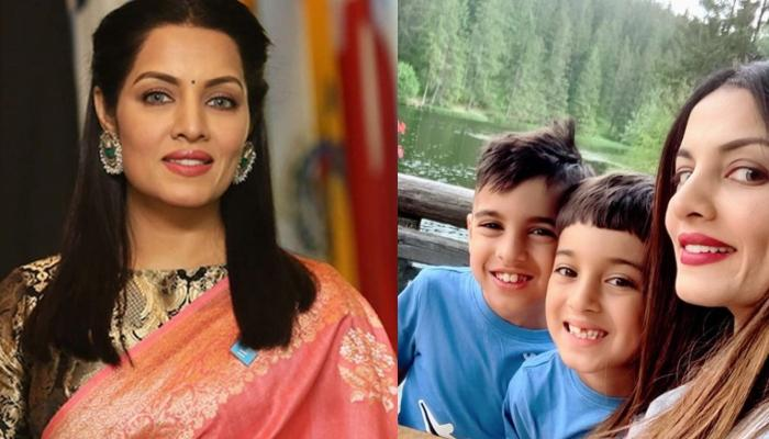Celina Jaitly Wishes Twins, Viraaj And Winston On 8th Birthday, Posts 'Cutest And Craziest' Journey