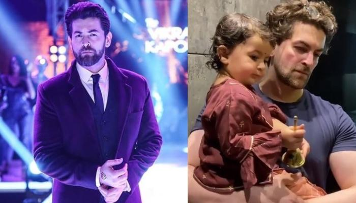 Neil Nitin Mukesh's Daughter, Nurvi Celebrates Gudi Padwa By Ringing The Bell During The Puja