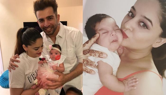 Mahhi Vij Shares A New Family Picture With Jay Bhanushali And Their Baby Girl, Tara Jay Bhanushali