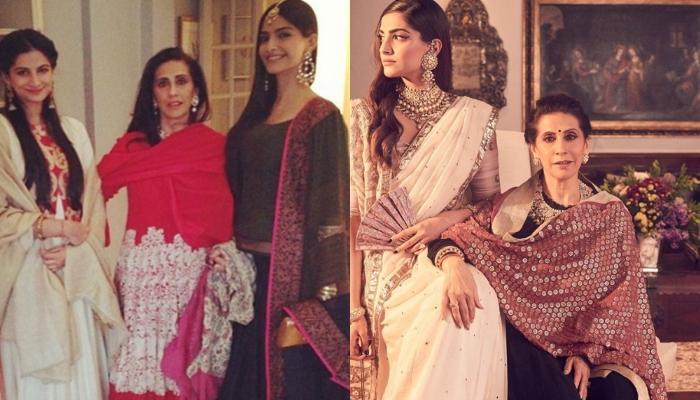 Anil Kapoor, Sonam Kapoor, Rhea Kapoor, Karan Boolani, Priya Ahuja Wish Sunita Kapoor On Birthday