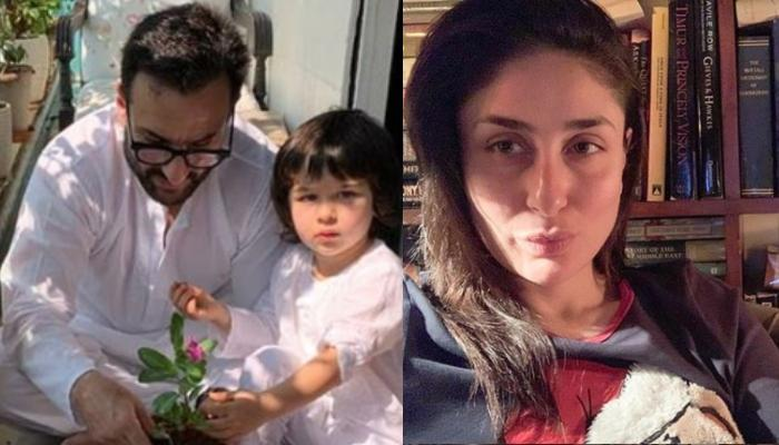 Taimur Ali Khan Chases Abba, Saif Ali Khan During Lockdown, Kareena Kapoor Khan Turns Photographer