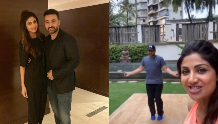 Shilpa Shetty Kundra Shows How To 'Skipkarona' With Hubby Raj Kundra Amidst COVID-19 Lockdown