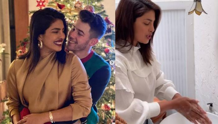 Priyanka Chopra With Hubby, Nick Jonas Co-Created A Song For #SafeHandsChallenge Amid COVID-19 Scare