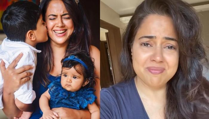 Sameera Reddy Broke Down Into Tears As She Talked About Anxiety Among Kids Amidst COVID-19 Lockdown