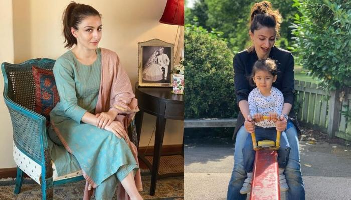 Soha Ali Khan Shares Picture With Daughter, Inaaya Naumi Keemu With A Quote That Suits The Lockdown