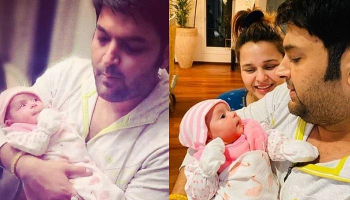 Kapil Sharma And Ginni Chatrath's Baby Girl, Anayra Sharma Looks Adorable In This New Picture