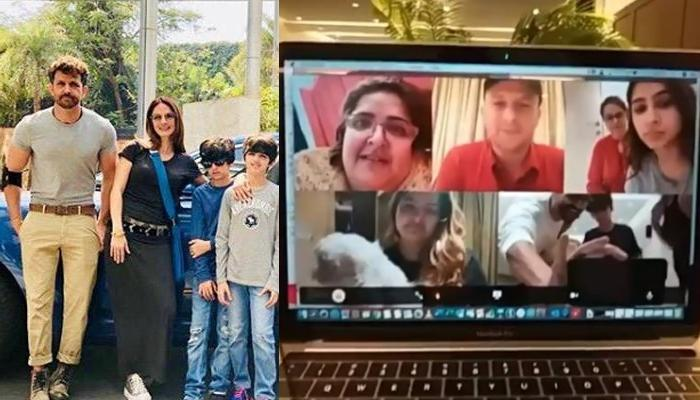 Hrithik Roshan And Ex-Wife, Sussane Khan Celebrated Their Son, Hrehaan's Birthday During Lockdown