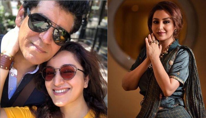 Tisca Chopra Follows Anushka-Virat's Path, Chops Down Husband, Sanjay Chopra's Hair