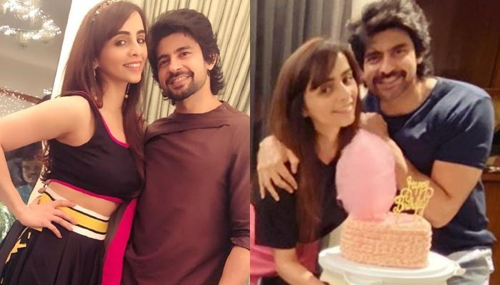 Hussain Kuwajerwala Shares A Special Wish For Wife, Tina's Birthday, Cuts A Unique Cotton Candy Cake