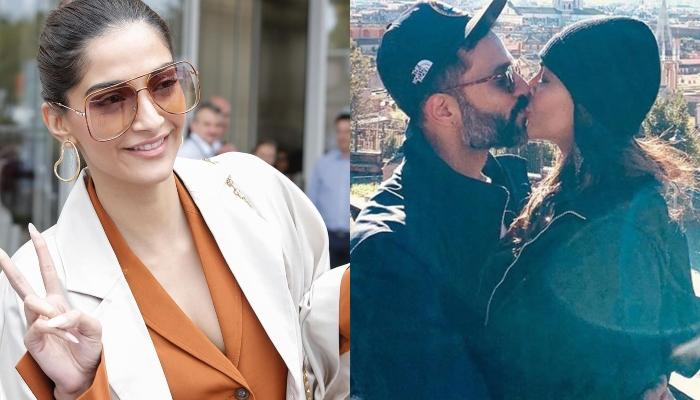 Anand Ahuja Reminds Sonam Kapoor Of Her 'Singing Promise' After She Posts A Mushy Picture