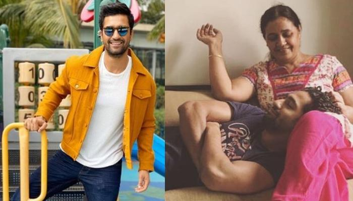 Vicky Kaushal Shares Dreamy Picture With Mom, Veena Kaushal While Enjoying Sunset Amidst Lockdown
