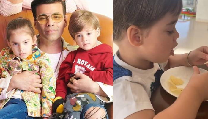 Karan Johar's Twins, Yash And Roohi Recommend French Fries For Dinner To Their Diet-Conscious Dad