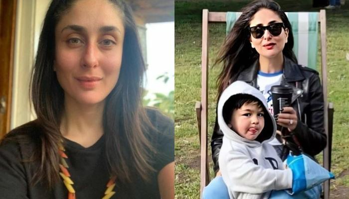 Kareena Kapoor Khan And Son, Taimur Ali Khan's Unseen Picture With Cows Is Getting Viral On Internet