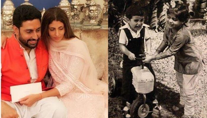 Shweta Bachchan Nanda Shares An Old Picture With Abhishek Bachchan, Their Resemblance Is Uncanny