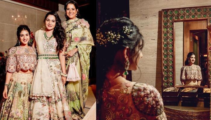Radhika Merchant's Expression While Dancing At Her Sister's Wedding Will Make You Say 'Maar Daala'