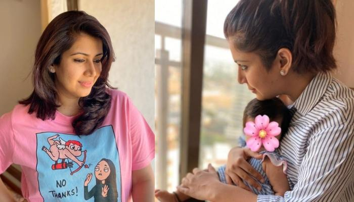 Ankita Bhargava Shares An Adorable Picture With Her Baby Girl, Mehr, Calls It 'Purest Love'