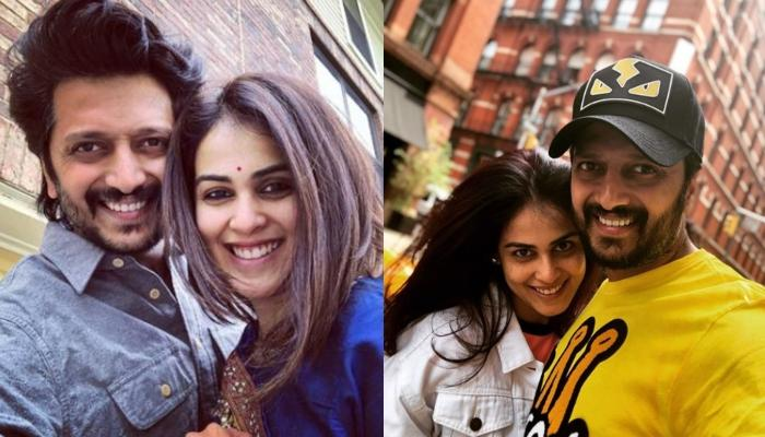 Riteish Deshmukh And Genelia D'Souza Recreate An Iconic Song From The 90s, Look Adorable