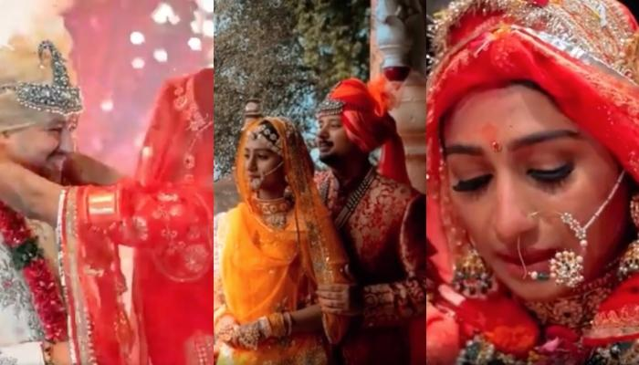 Mohena Kumari Singh Shares Wedding Teaser On The Completion Of 6 Months Of Married Life With Suyesh
