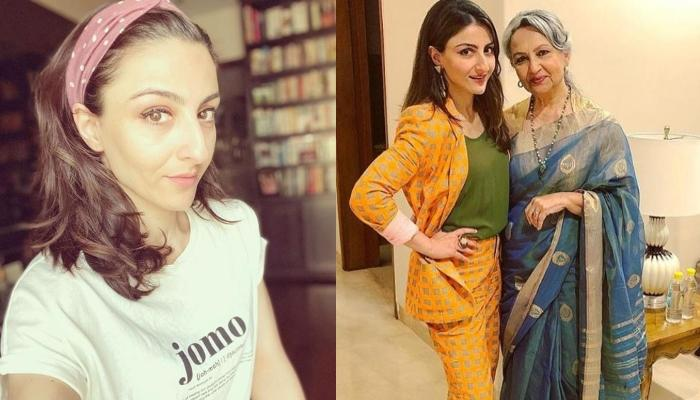 Soha Ali Khan Thanks Her Mom, Sharmila Tagore For Her Efforts As A Mother, Posts A Heartfelt Note