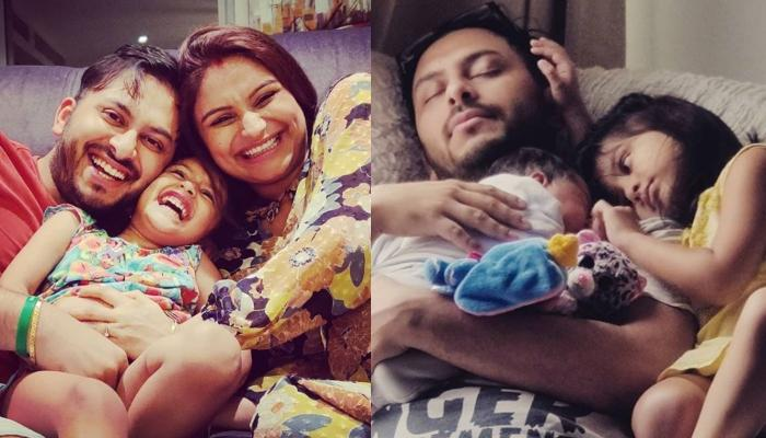 Dimpy Ganguly Posts An Endearing Moment Of Reanna Roy With Newborn Brother, It'll Leave You In Awe!