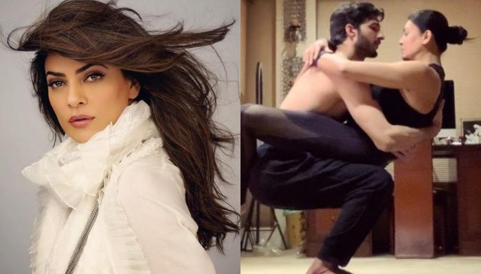 Sushmita Sen Nails A 'Balancing Yoga Pose Challenge', Her Beau, Rohman Shawl's Comment Is Unmissable