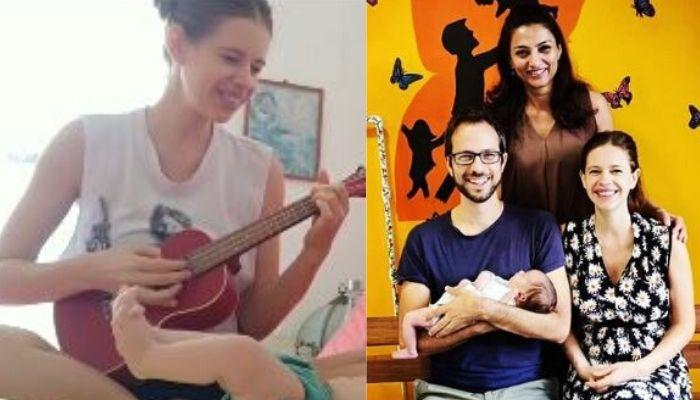 Kalki Koechlin Sings A Lullaby To Her Newborn Daughter, Sappho As She Dances To Her Mom's Tunes