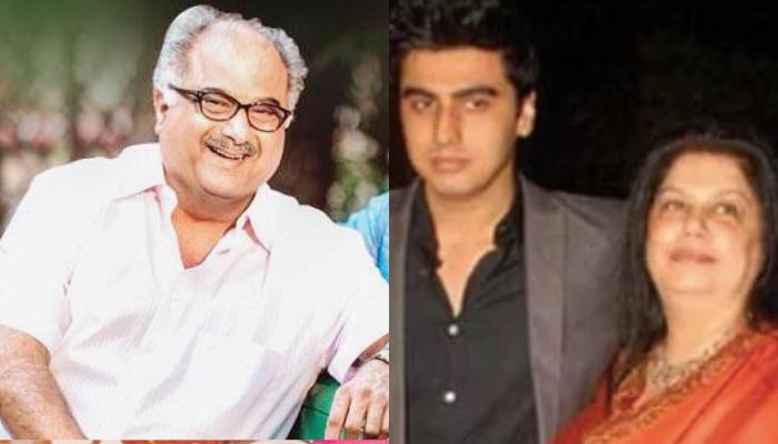 Boney Kapoor And Ex-Wife, Mona Shourie's Rare Picture With Son, Arjun From Anil Kapoor's Birthday