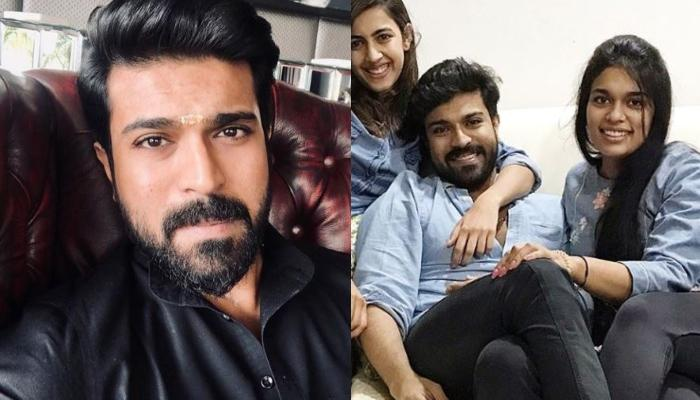 South Star, Ram Charan And Sister Sreeja's Unseen Twinning In Blue Picture Gives Major Sibling Goals